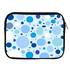 Bubbly Blues Apple iPad Zippered Sleeve