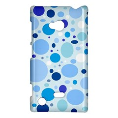 Bubbly Blues Nokia Lumia 720 Hardshell Case