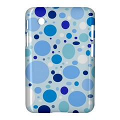 Bubbly Blues Samsung Galaxy Tab 2 (7 ) P3100 Hardshell Case