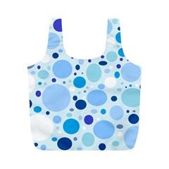 Bubbly Blues Reusable Bag (M)
