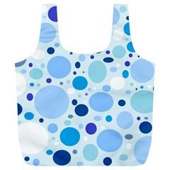 Bubbly Blues Reusable Bag (XL)