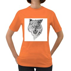 Lone Wolf Women s T-shirt (Colored)