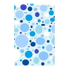 Bubbly Blues Shower Curtain 48  x 72  (Small)