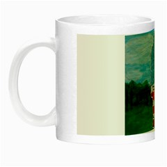 Painted Flag Big Foot Aust Glow in the Dark Mug
