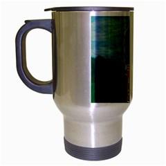Painted Flag Big Foot Aust Travel Mug (Silver Gray)