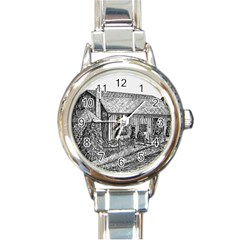 Sugarcreek ` Ave Hurley - ArtRave -  Round Italian Charm Watch