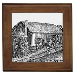 Sugarcreek ` Ave Hurley - ArtRave -  Framed Ceramic Tile