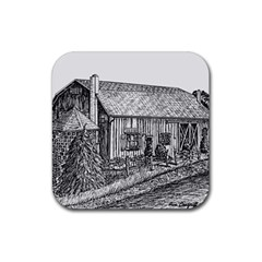 Sugarcreek ` Ave Hurley - ArtRave -  Drink Coasters 4 Pack (Square)
