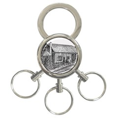 Sugarcreek ` Ave Hurley - ArtRave -  3-Ring Key Chain