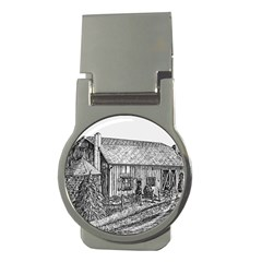 Sugarcreek ` Ave Hurley - ArtRave -  Money Clip (Round)