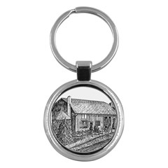 Sugarcreek ` Ave Hurley - ArtRave -  Key Chain (Round)