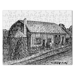 Sugarcreek ` Ave Hurley - ArtRave -  Jigsaw Puzzle (Rectangle)