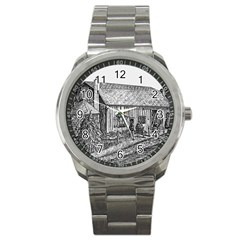 Sugarcreek ` Ave Hurley - ArtRave -  Sport Metal Watch