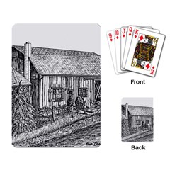 Sugarcreek ` Ave Hurley   Artrave    Playing Cards Single Design