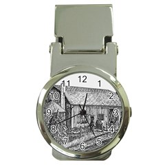 Sugarcreek ` Ave Hurley   Artrave    Money Clip With Watch