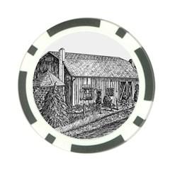 Sugarcreek ` Ave Hurley - ArtRave -  Poker Chip