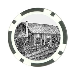 Sugarcreek ` Ave Hurley - ArtRave -  Poker Chip (10 Pack)