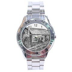 Sugarcreek ` Ave Hurley - ArtRave -  Stainless Steel Watch