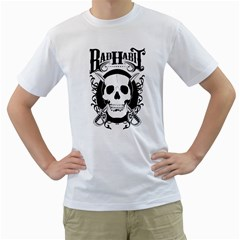 Badhabit Men s T Shirt (white)