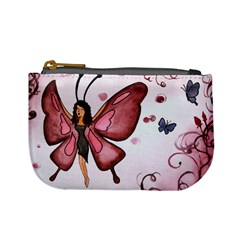 Butterfly Girl Coin Change Purse