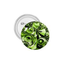 Retro Green Abstract 1.75  Button