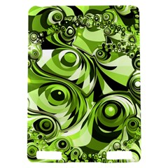 Retro Green Abstract Kindle Touch 3G Hardshell Case
