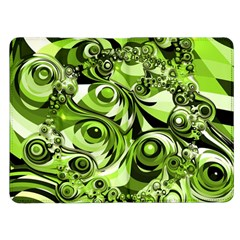 Retro Green Abstract Kindle Fire Flip Case