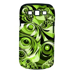 Retro Green Abstract Samsung Galaxy S III Classic Hardshell Case (PC+Silicone)
