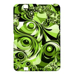 Retro Green Abstract Kindle Fire Hd 8 9  Hardshell Case