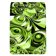 Retro Green Abstract Removable Flap Cover (small)