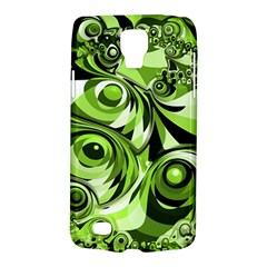 Retro Green Abstract Samsung Galaxy S4 Active (I9295) Hardshell Case