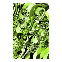 Retro Green Abstract Shower Curtain 48  x 72  (Small)