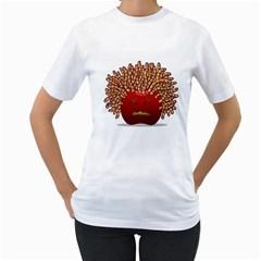 Little Medusa Women s T Shirt (white)