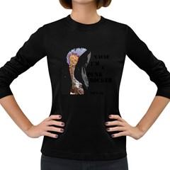 Punk Rocker Women s Long Sleeve T Shirt (dark Colored)