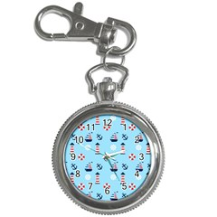 Sailing The Bay Key Chain Watch