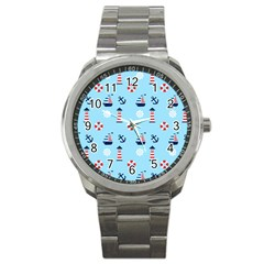 Sailing The Bay Sport Metal Watch