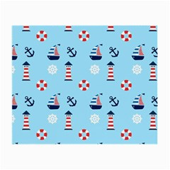 Sailing The Bay Glasses Cloth (small, Two Sided)