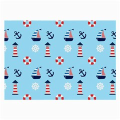 Sailing The Bay Glasses Cloth (Large, Two Sided)