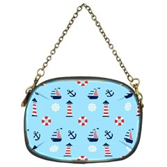 Sailing The Bay Chain Purse (One Side)