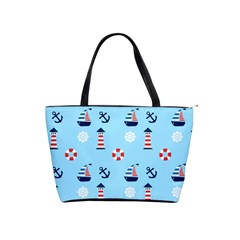Sailing The Bay Large Shoulder Bag