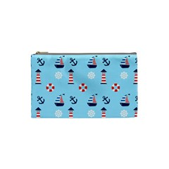 Sailing The Bay Cosmetic Bag (Small)