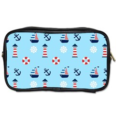 Sailing The Bay Travel Toiletry Bag (two Sides)