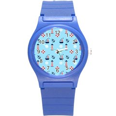 Sailing The Bay Plastic Sport Watch (Small)