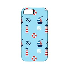 Sailing The Bay Apple Iphone 5 Classic Hardshell Case (pc+silicone)