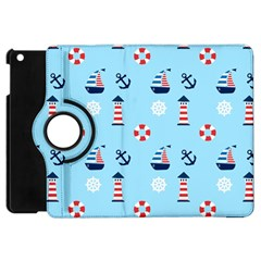 Sailing The Bay Apple iPad Mini Flip 360 Case