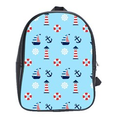 Sailing The Bay School Bag (XL)