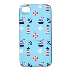 Sailing The Bay Apple Iphone 4/4s Hardshell Case With Stand