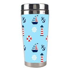 Sailing The Bay Stainless Steel Travel Tumbler