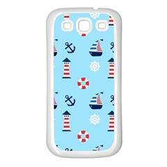 Sailing The Bay Samsung Galaxy S3 Back Case (white)