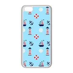 Sailing The Bay Apple iPhone 5C Seamless Case (White)